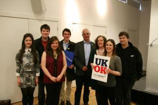 Meeting Alistair Darling with Better Together
